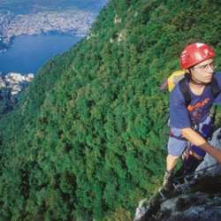 Via ferrata San Salvatore, Lugano