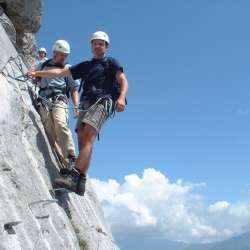 Via Ferrata Videmanette Initiation, Rougemont