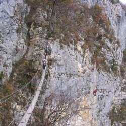 Via Ferrata de la Grotte à Carret, St-Jean d'Arvey